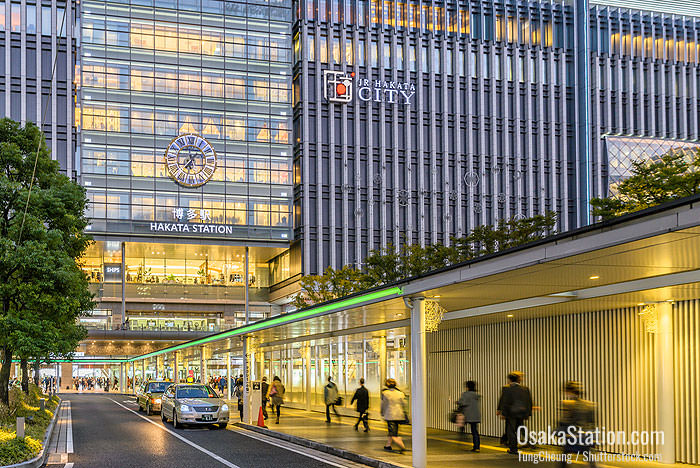 Hakata Station and JR Hakata City complex