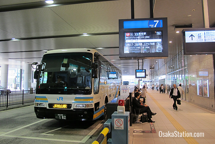 The Osaka Station Bus Terminal