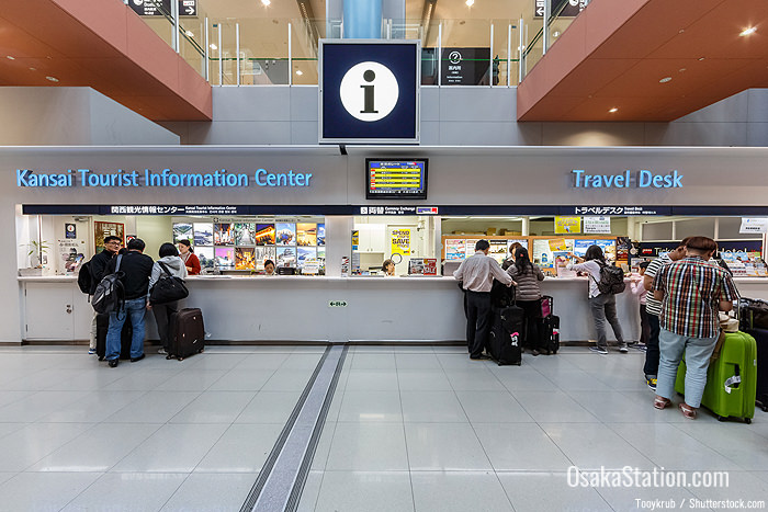 Kansai Tourist Information Center and Travel Desk at Kansai Airport