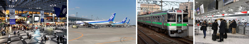 Traveling Between Sapporo and New Chitose Airport