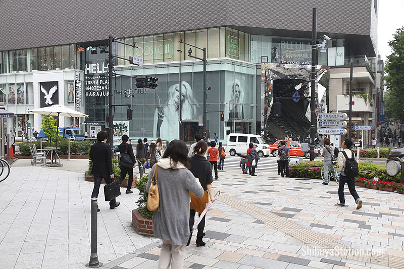 Tokyu Plaza - one of Omotesando's many high end shopping venues