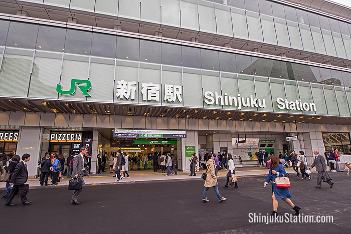 JR Shinjuku Station's New South Gate