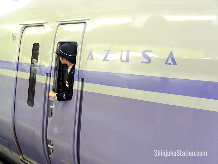 Azusa limited express to Kiso Valley