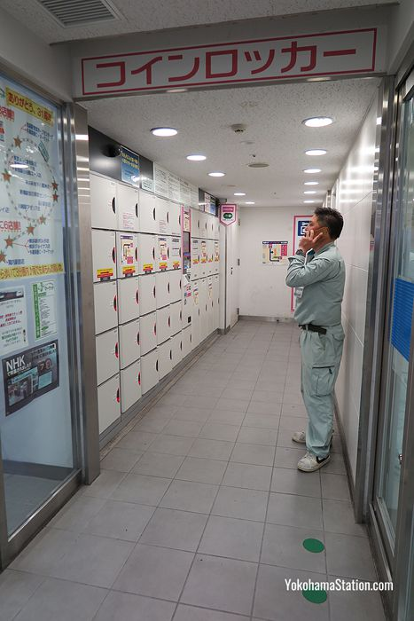 The 1st floor Sotetsu Line locker room
