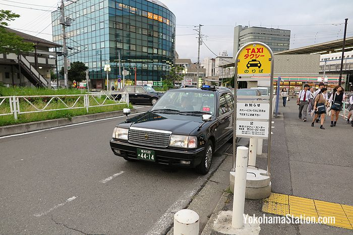 The Shinohara Exit taxi rank