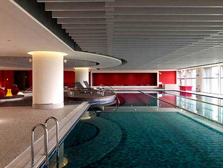 Indoor Pool at Novotel Taipei Taoyuan