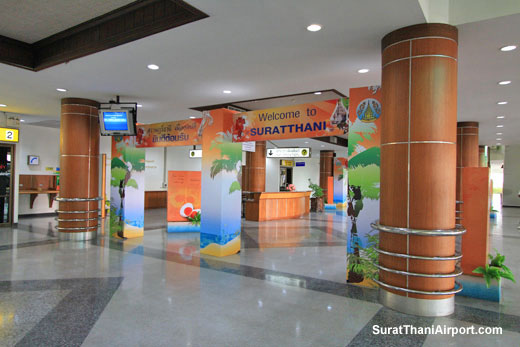 Surat Thani Airport arrivals