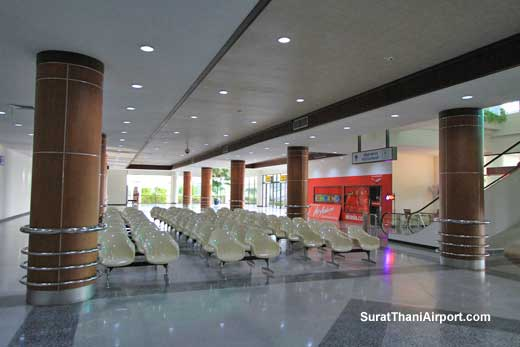 Surat Thani Airport waiting area