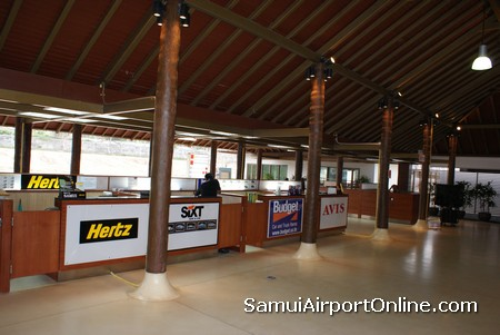 Hertz Car Rental Koh Samui Airport